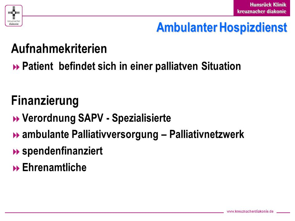 Ambulanter Hospizdienst