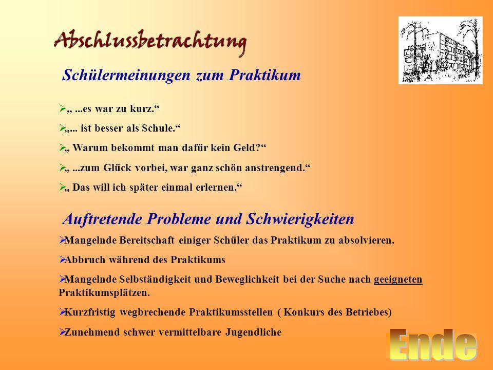 Schülerbetriebspraktikum An Der Nordend Schule Eberswalde Ppt