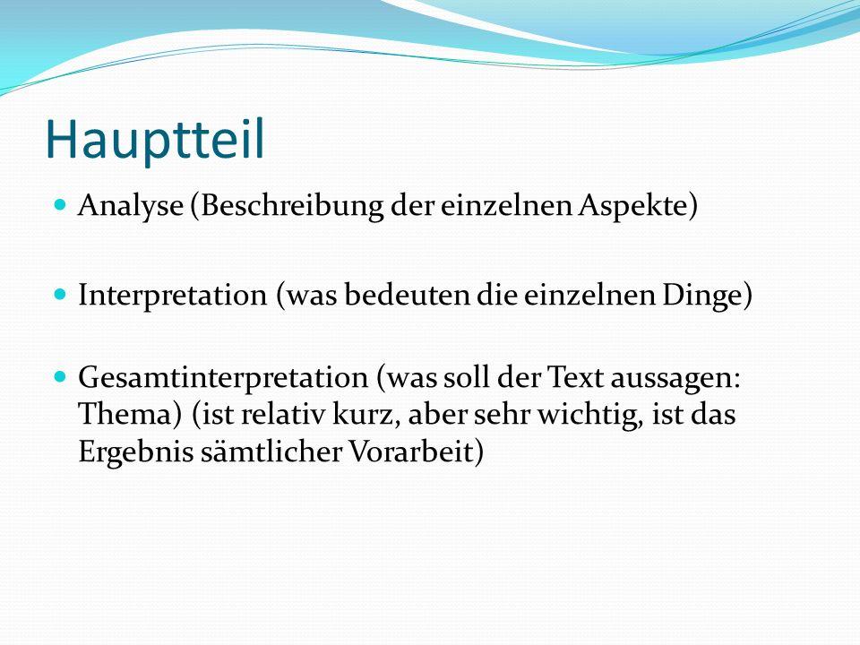 Interpretation Kurzgeschichte Ppt Video Online Herunterladen