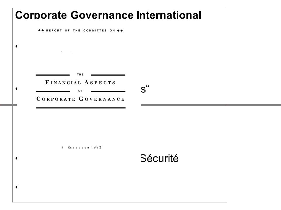 Corporate Governance International USA