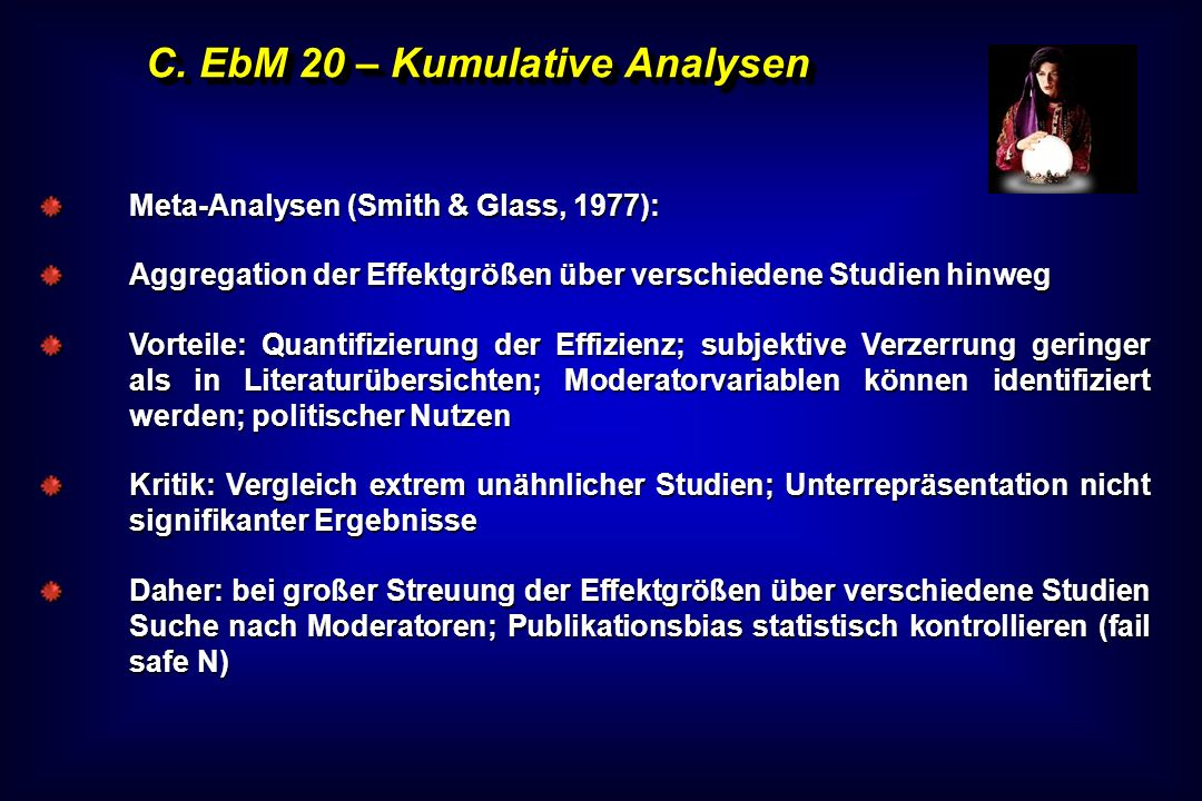 C. EbM 20 – Kumulative Analysen