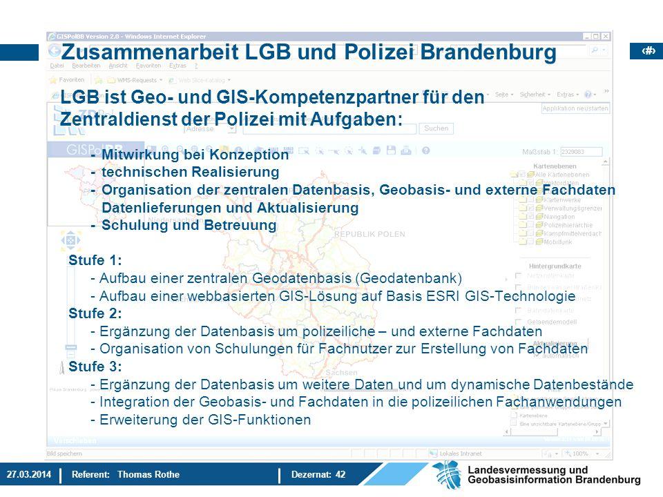 Das Zentrales Geoinformationssystem Der Polizei In Brandenburg Ppt