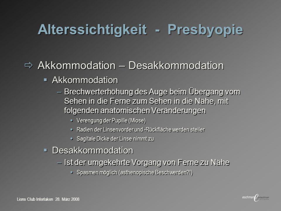 Fehlsichtigkeiten Möglichkeiten der Korrektion 28. März ppt video ...