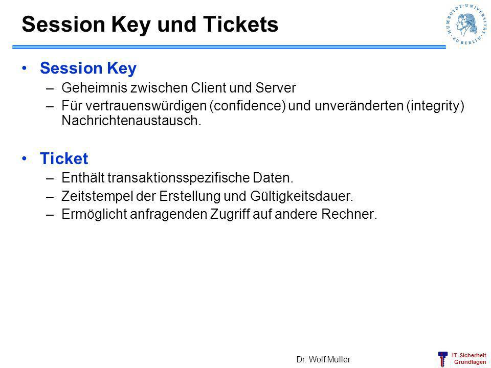 Session Key und Tickets