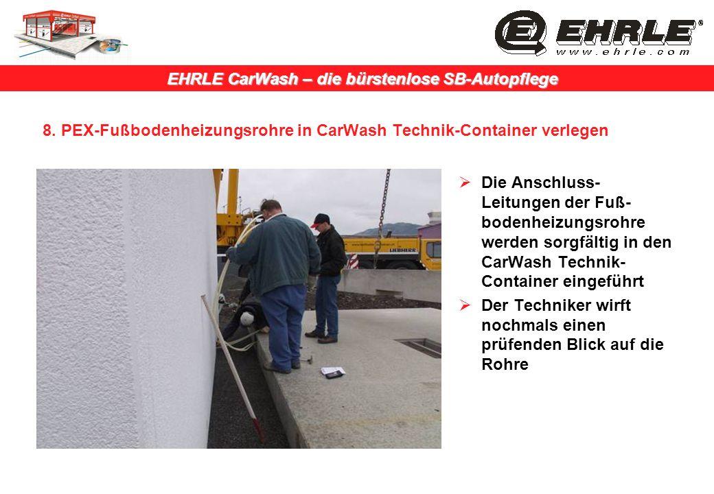 1 Vorbereitung Untergrund Fur Carwash Waschplatten Und Technik