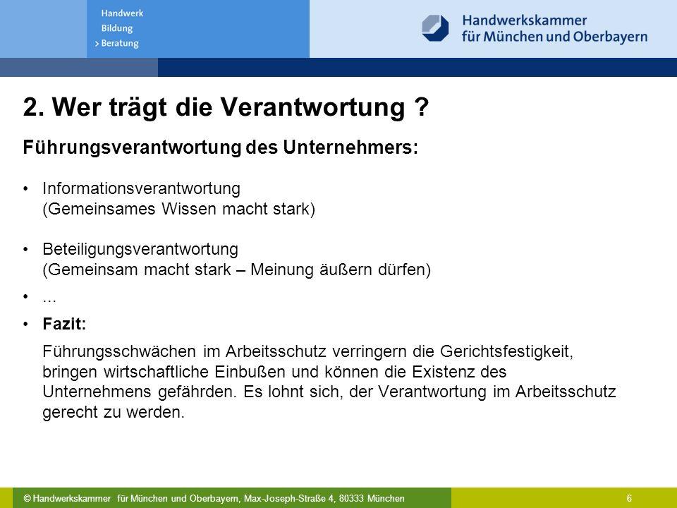 Gesundheitsschutz Im Handwerk Betriebliche Arbeitsschutzorganisation