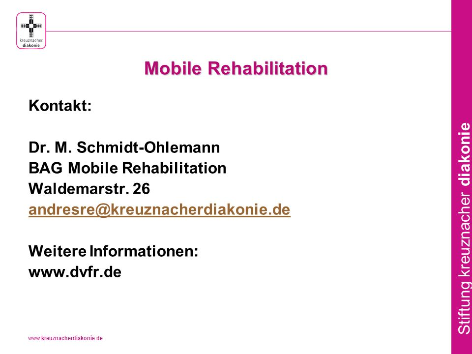Mobile Rehabilitation