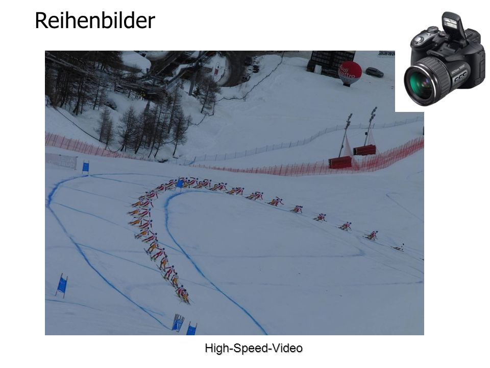 Reihenbilder High-Speed-Video