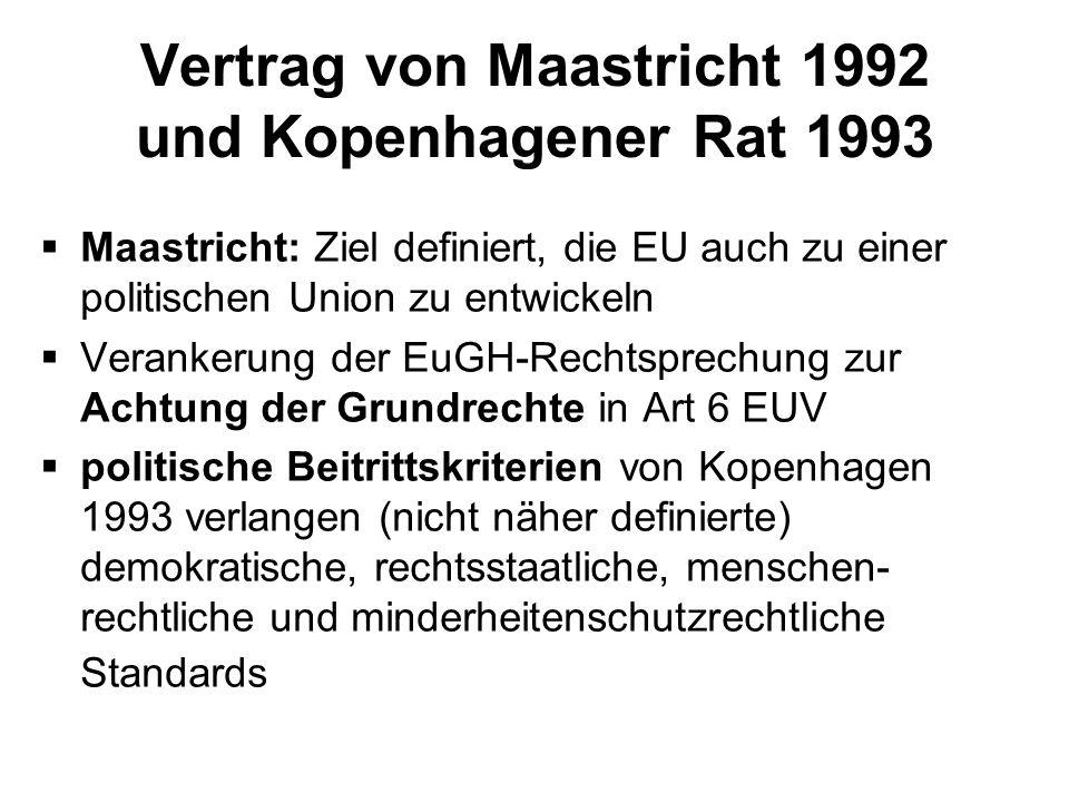 Vorlesung Europäischer Menschenrechtsschutz Europäische Union