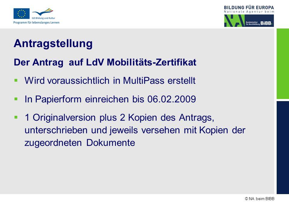 Mobilitäts-Zertifikat - ppt herunterladen
