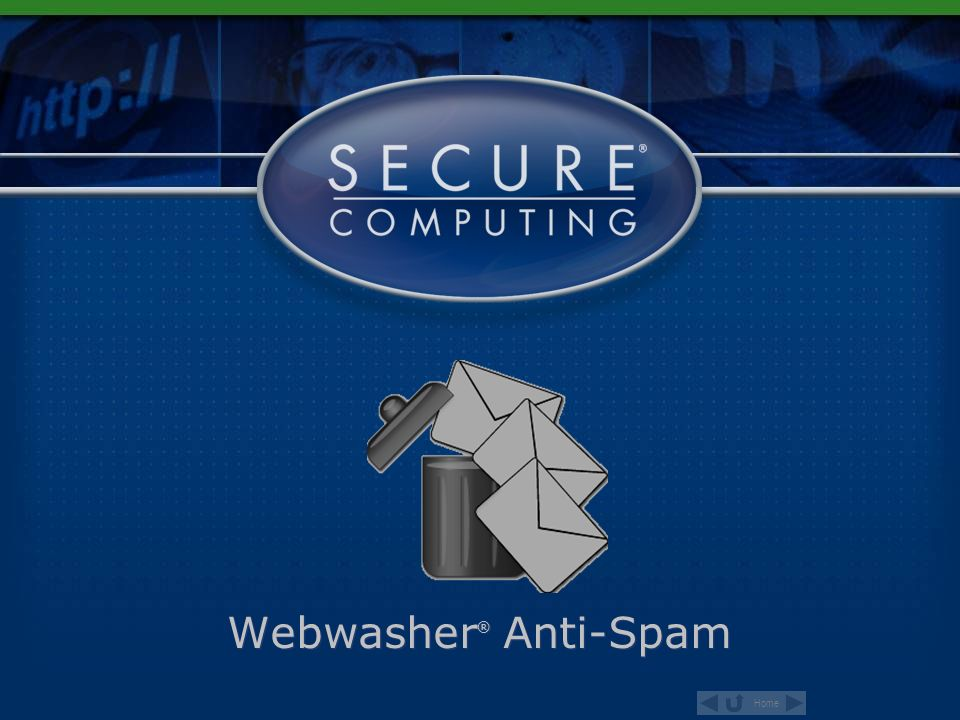 Webwasher® Anti-Spam