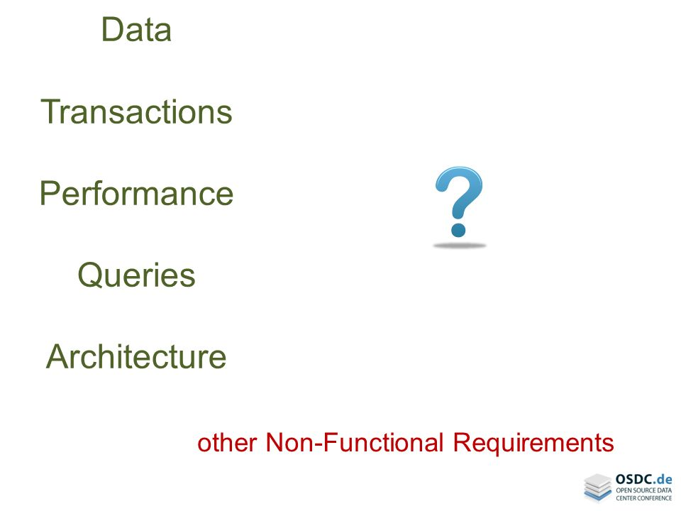 other Non-Functional Requirements