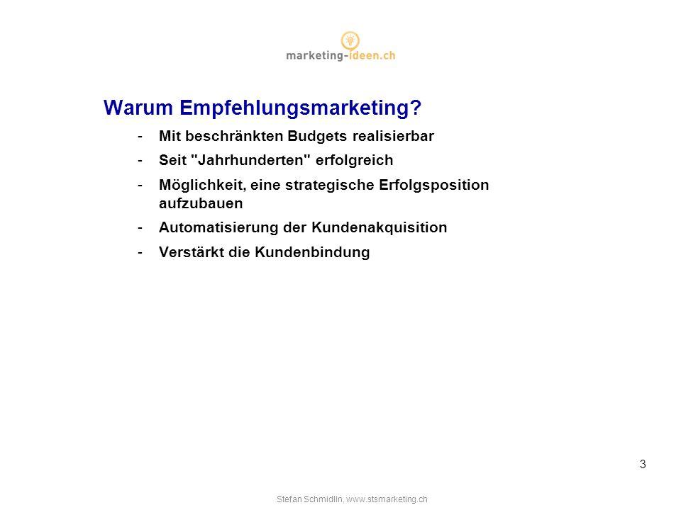 warum empfehlungsmarketing - Empfehlungsmarketing Beispiele