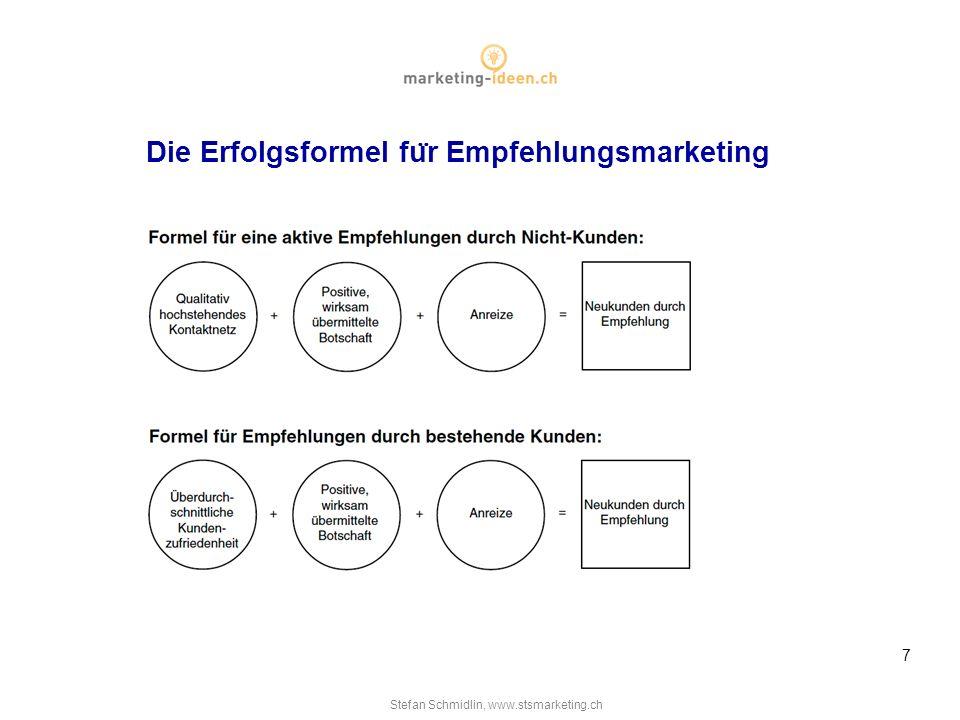 7 die erfolgsformel fr empfehlungsmarketing - Empfehlungsmarketing Beispiele