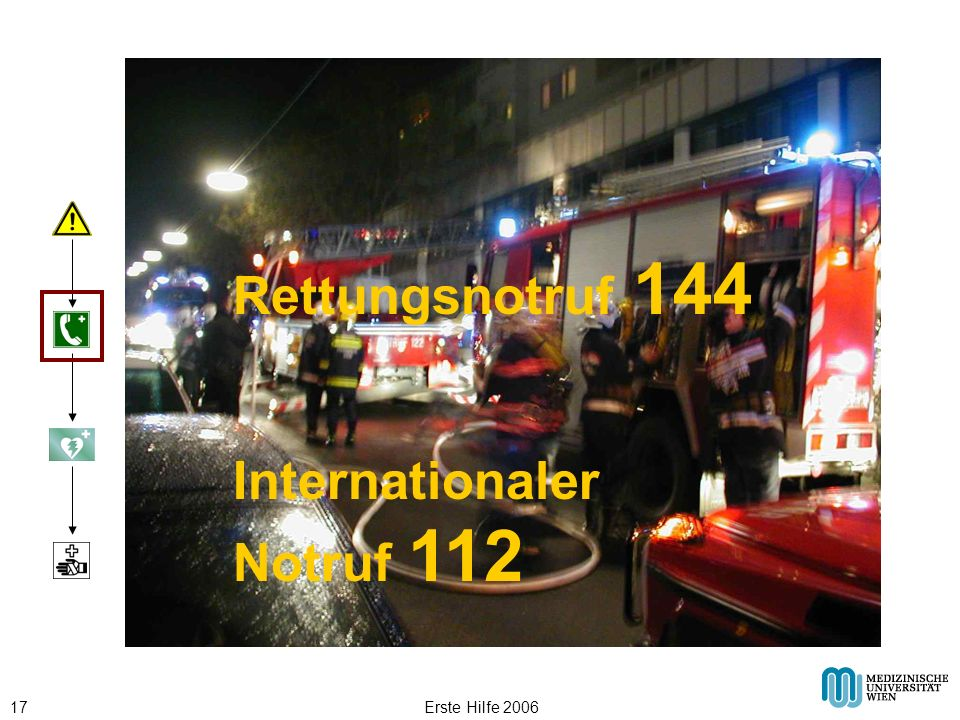 Internationaler Notruf 112