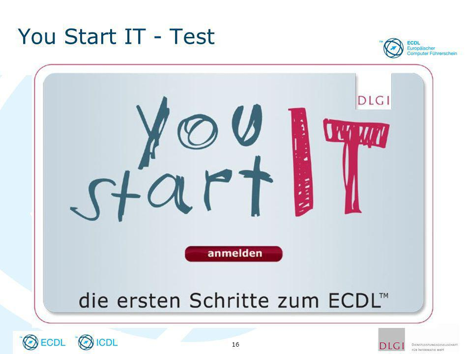 You Start IT - Test