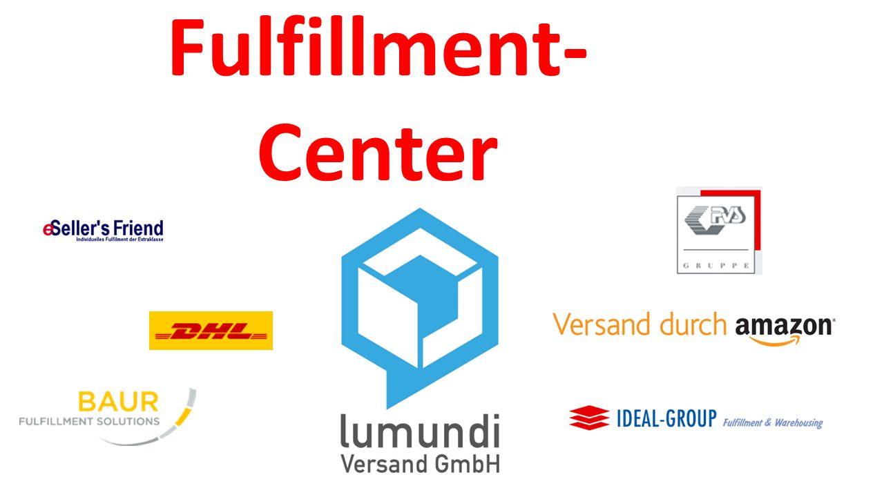Fulfillment- Center Also das was, was Fulfillment ausmacht