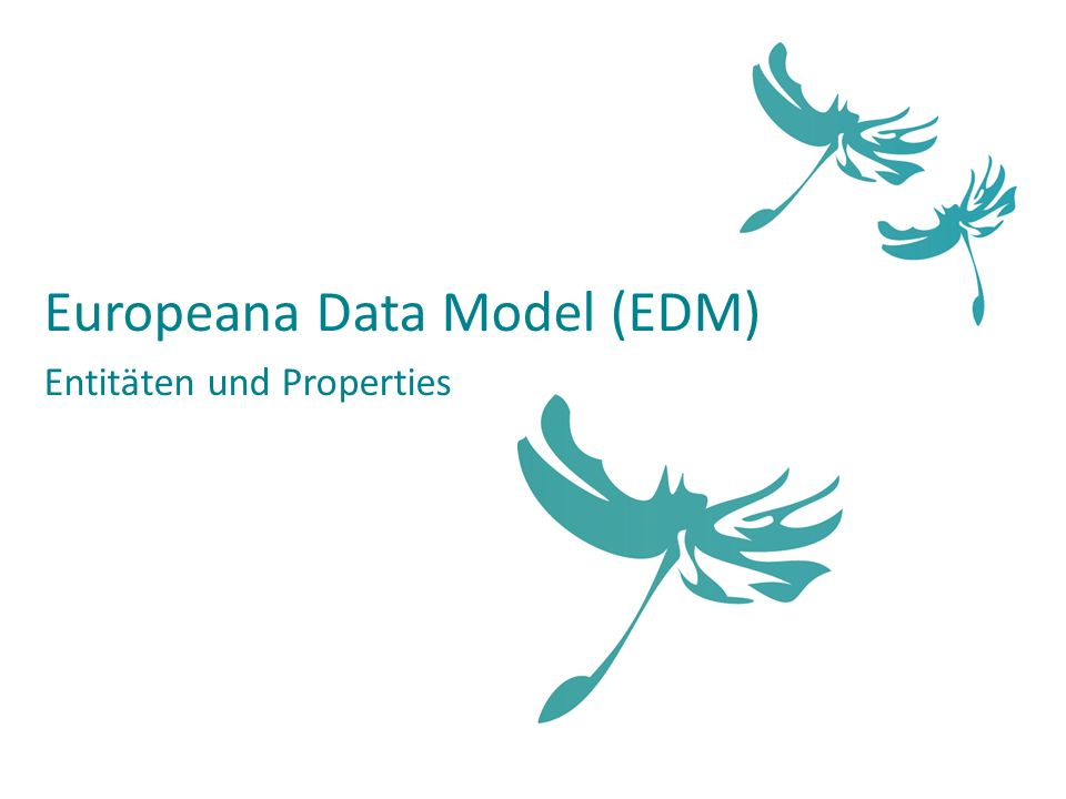 Europeana Data Model (EDM)