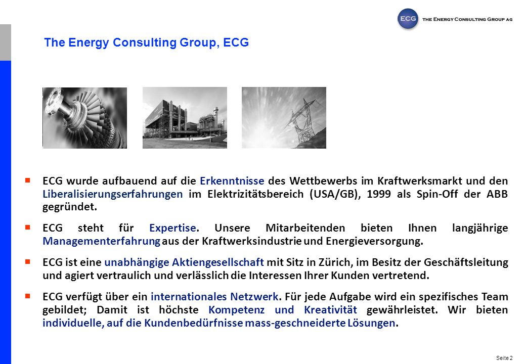The Energy Consulting Group, ECG