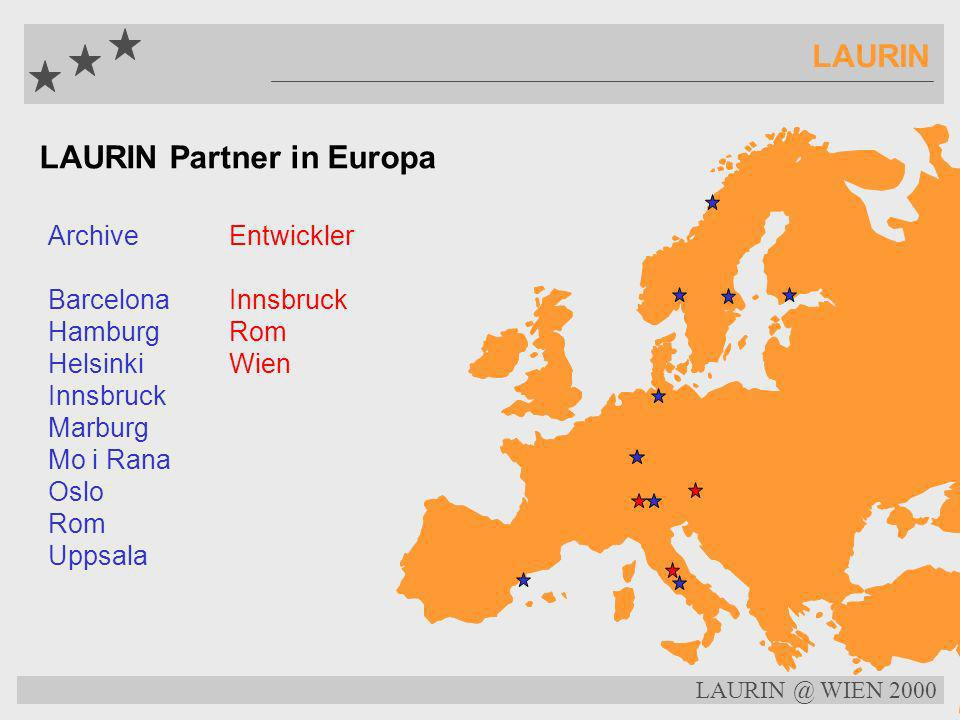 LAURIN Partner in Europa
