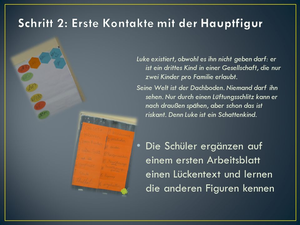 Bucheinführung Schattenkinder - ppt herunterladen