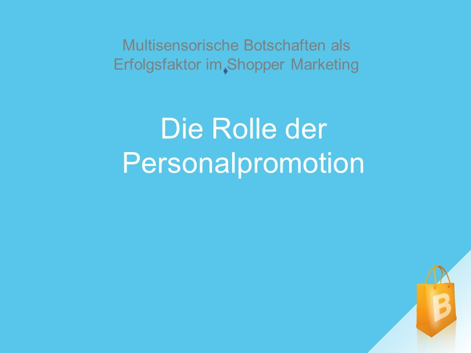 Die Rolle der Personalpromotion