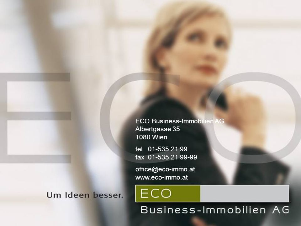 ECO Business-Immobilien AG Albertgasse 35 1080 Wien