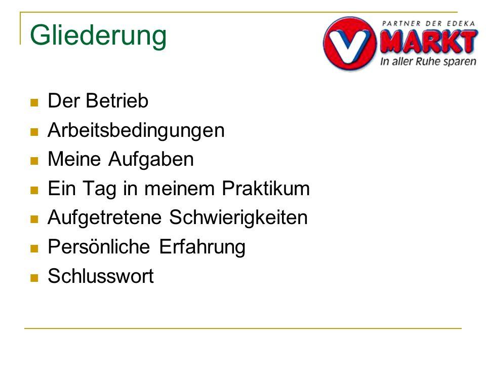 Praktikums Präsentation V Markt Partner Der Edeka Ppt Video Online