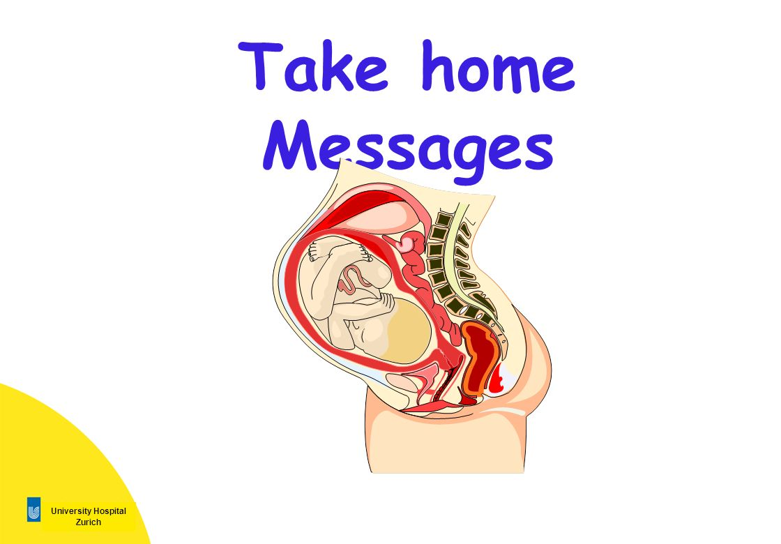 Take home Messages 2 2
