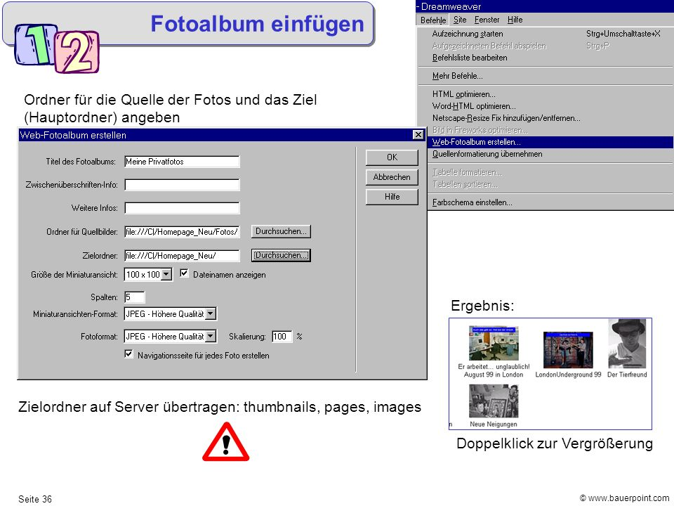 1 Macromedia Dreamweaver MX © Mag. Helmut Bauer - ppt herunterladen