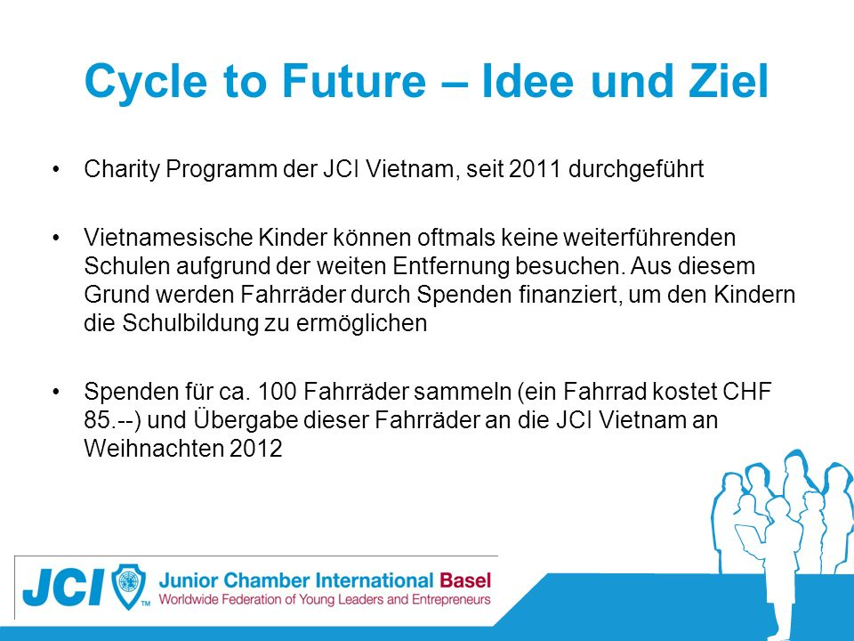 Cycle to Future – Idee und Ziel