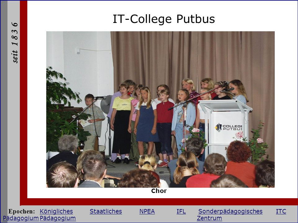 IT-College Putbus Chor.