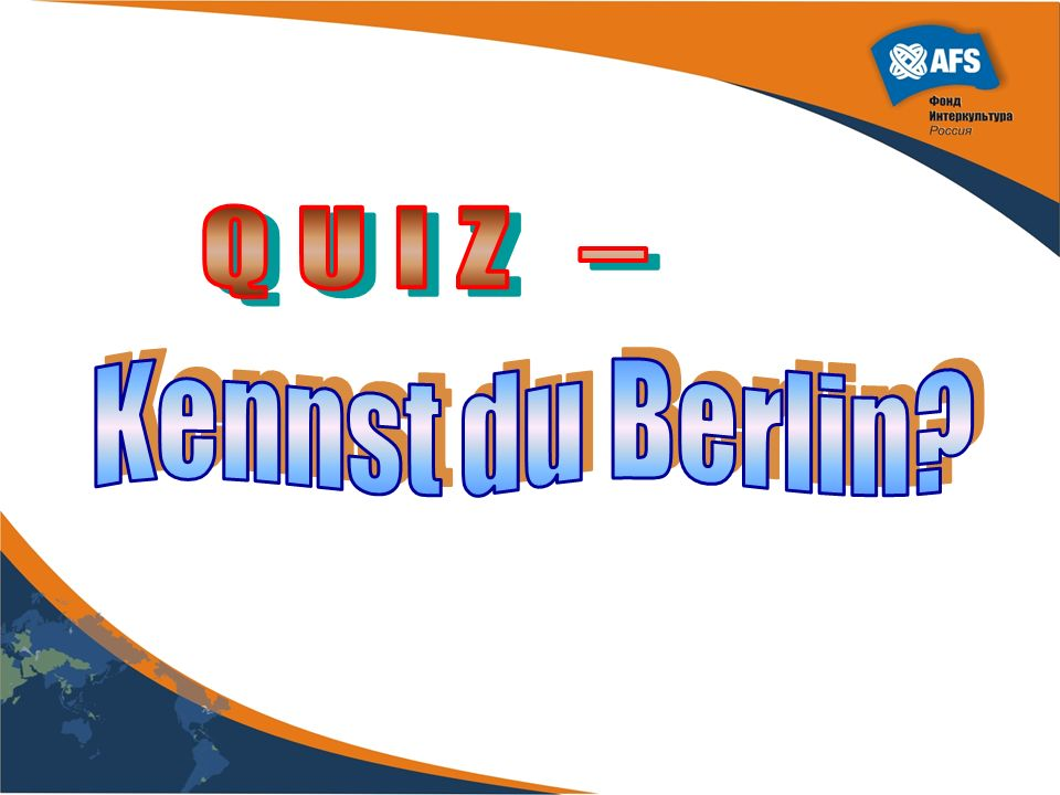 QUIZ – Kennst du Berlin