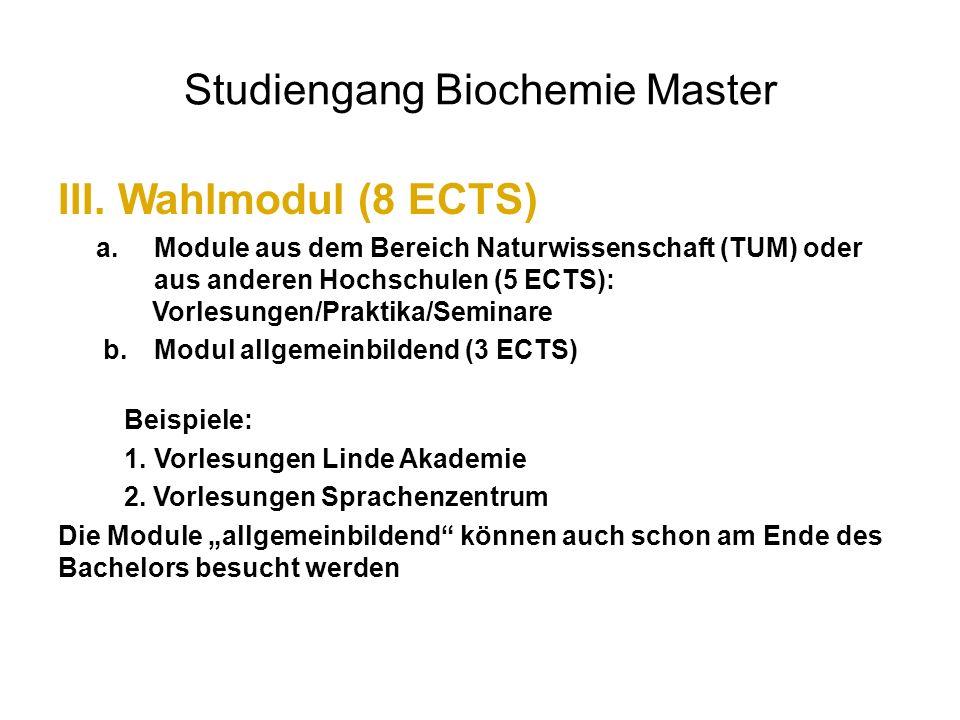 Studiengang Biochemie Master - ppt video online herunterladen