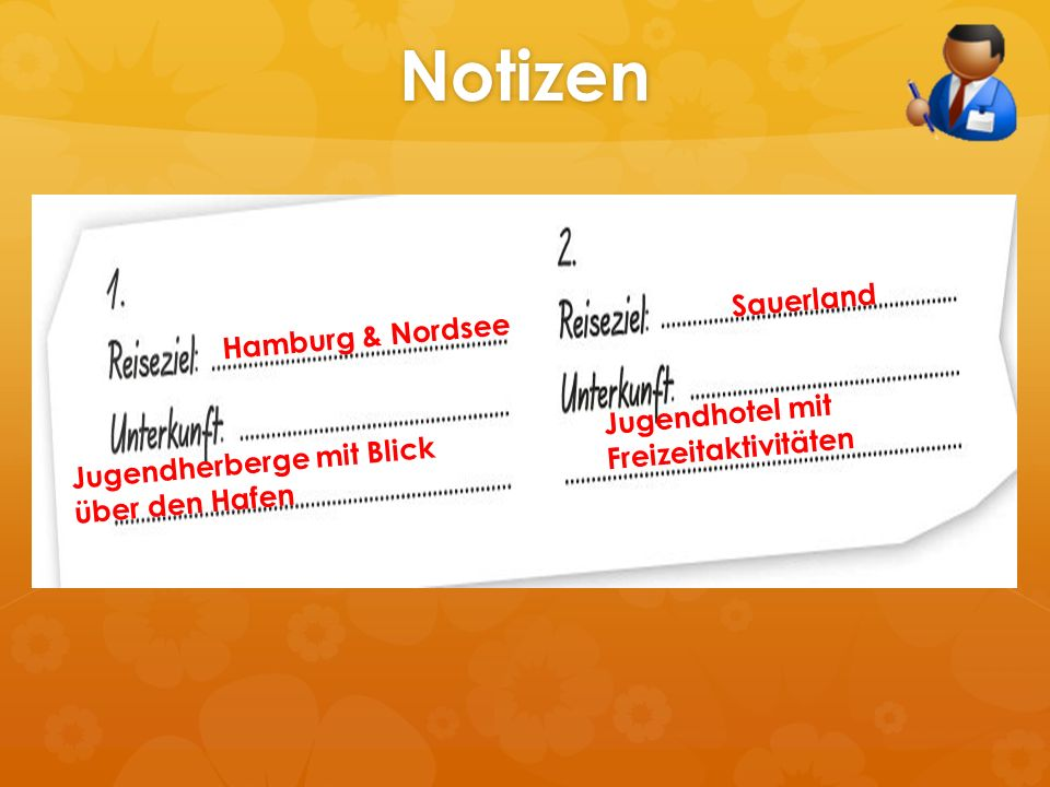 Notizen Sauerland Hamburg & Nordsee