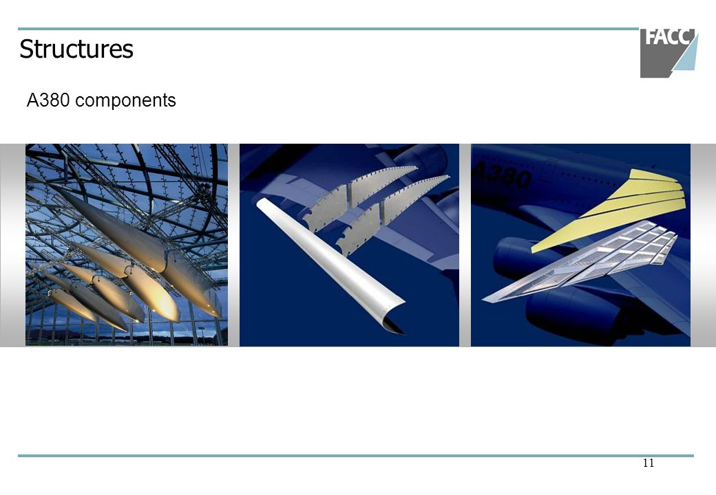 Structures A380 components