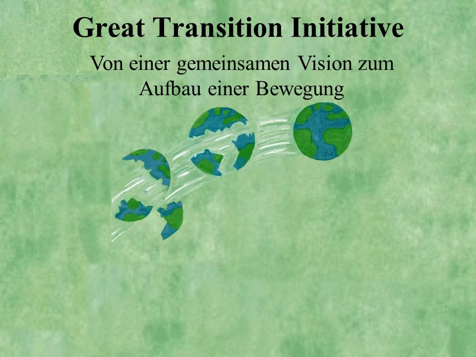 Great Transition Initiative
