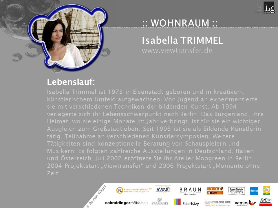 Isabella TRIMMEL www.viewtransfer.de