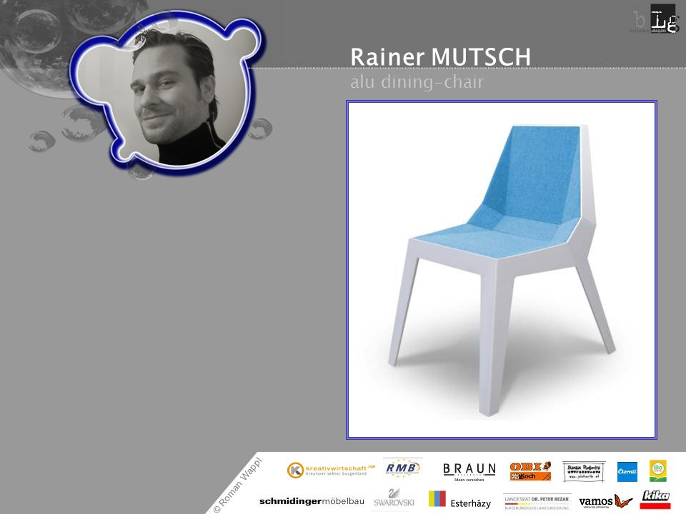 Rainer MUTSCH alu dining-chair