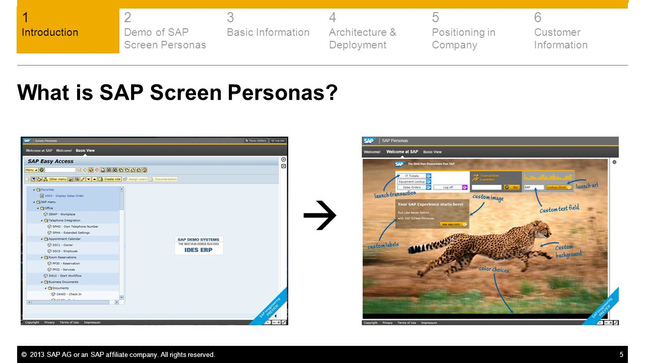  What is SAP Screen Personas 1 2 3 4 5 6 Introduction