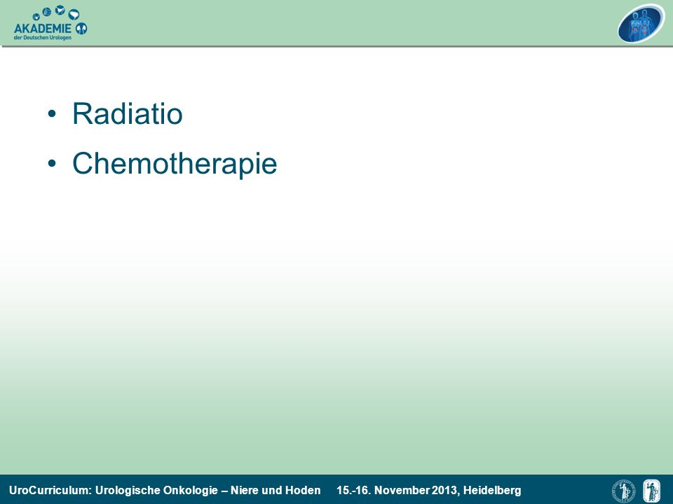 Radiatio Chemotherapie