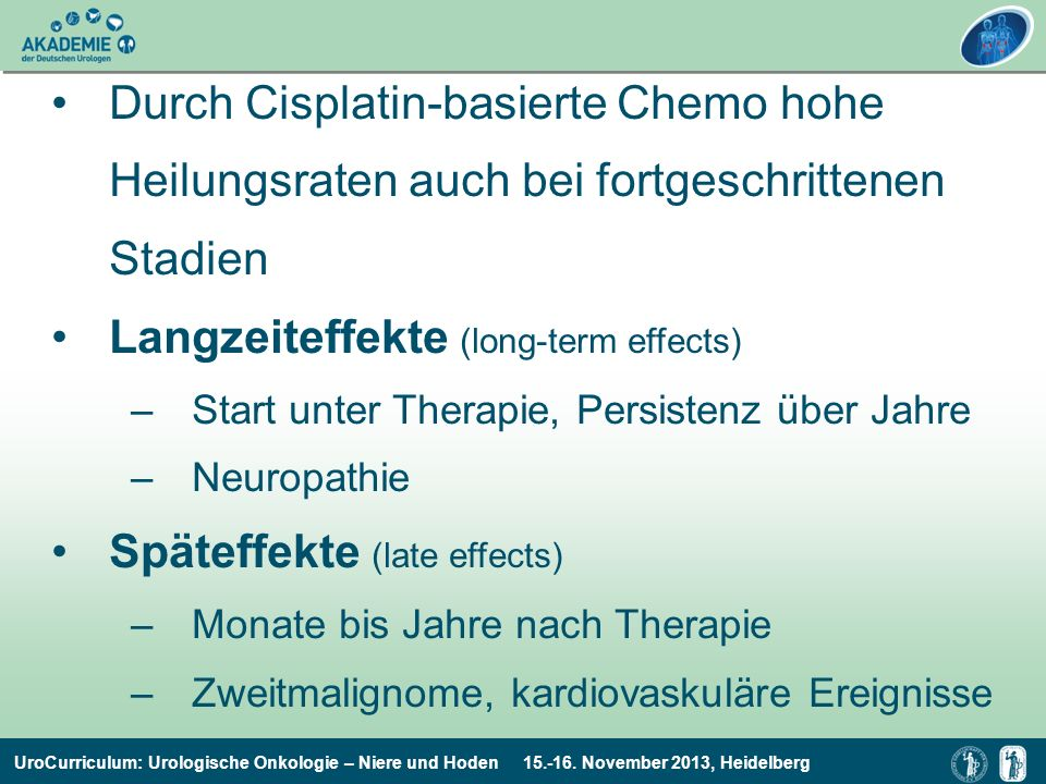 Langzeiteffekte (long-term effects)