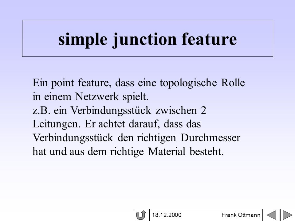 simple junction feature