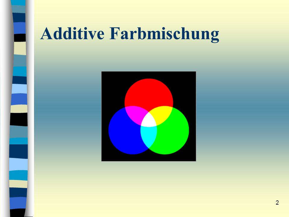 Additive Farbmischung