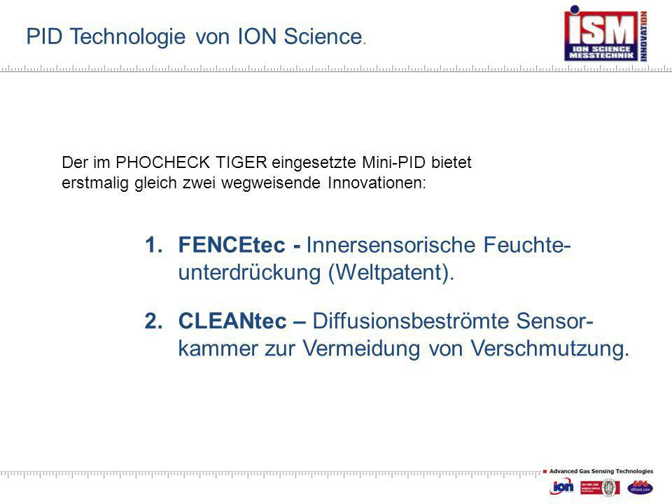 PID Technologie von ION Science.