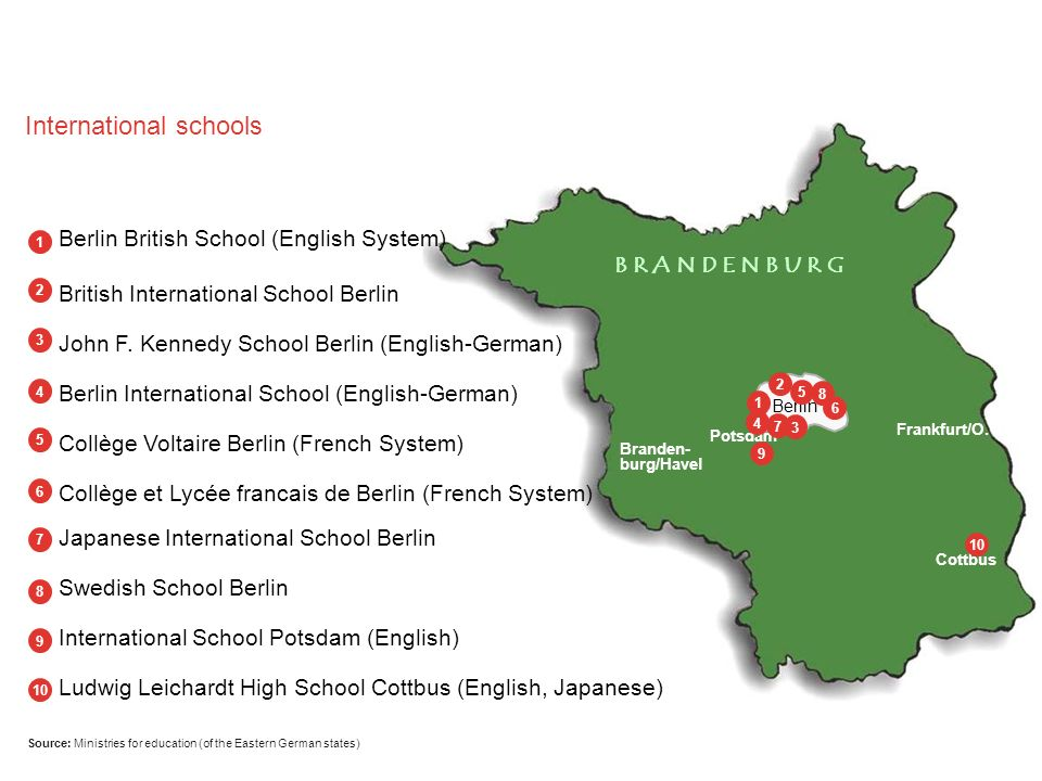 Source: Ministries for education (of the Eastern German states)