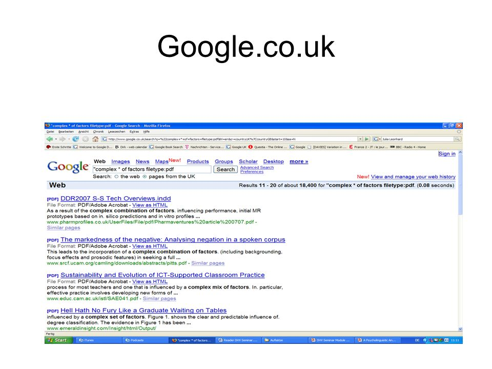 Google.co.uk