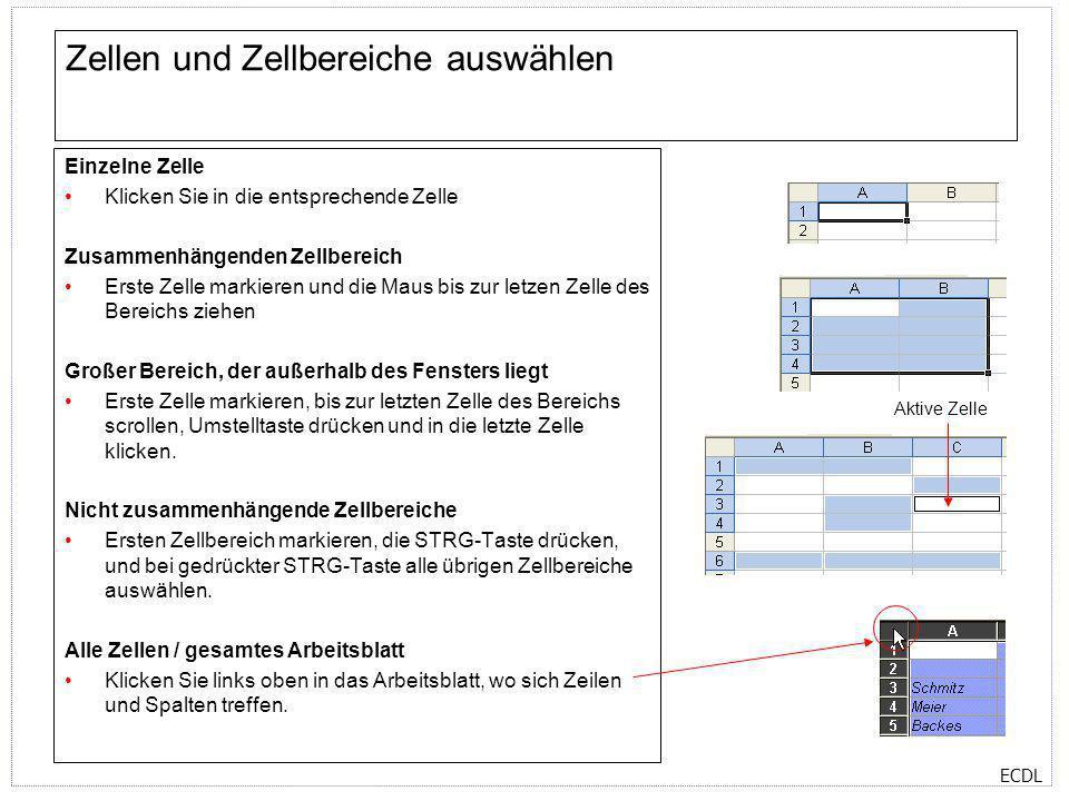 Excel-Fenster Minimierfeld, Maximierfeld, Schließenfeld Titelleiste ...