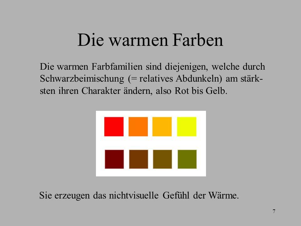 Die Warmen Farben