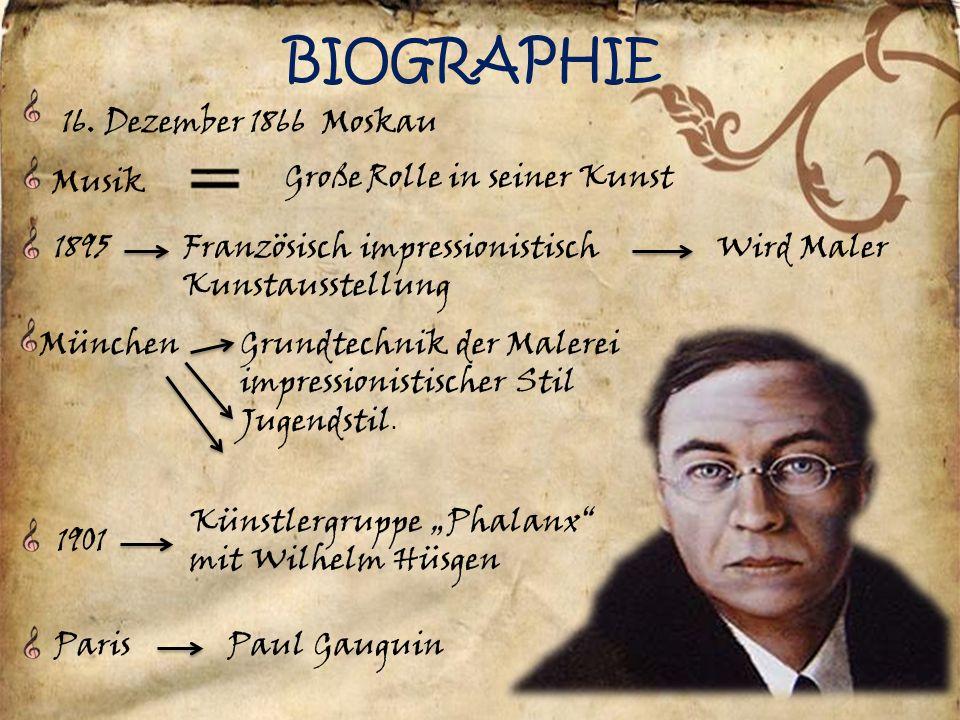 wassily kandinsky 2 biographie 16 - Wassily Kandinsky Lebenslauf